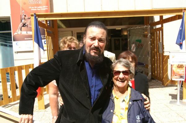 Notre invité d'honneur 2012 et Marthe Villalonga