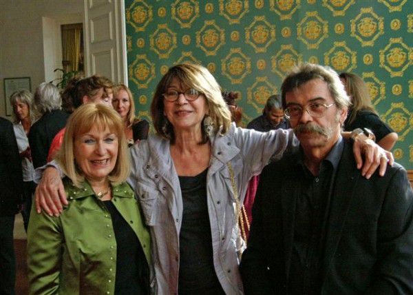 Michèle Taupin, Viviane Guybet, guy Geymann à Vittel 2013