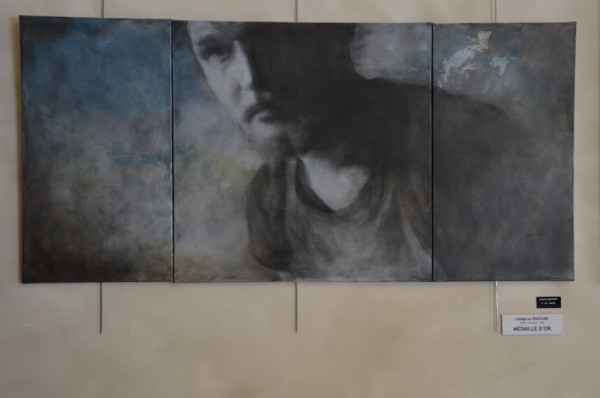 Isabelle BOURGER - Catégorie peinture - Médaille d'or