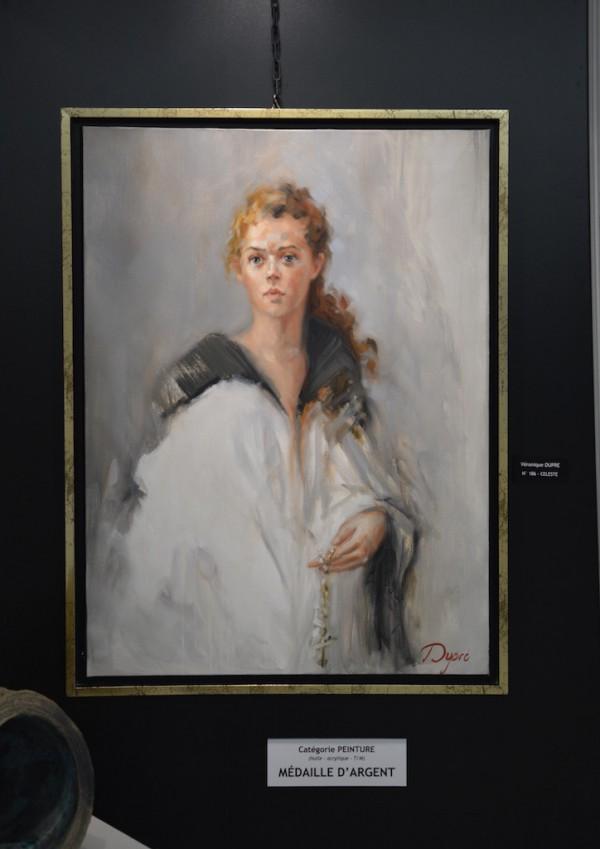 Véronique DUPRE - Catégorie peinture - Médaille d'argent