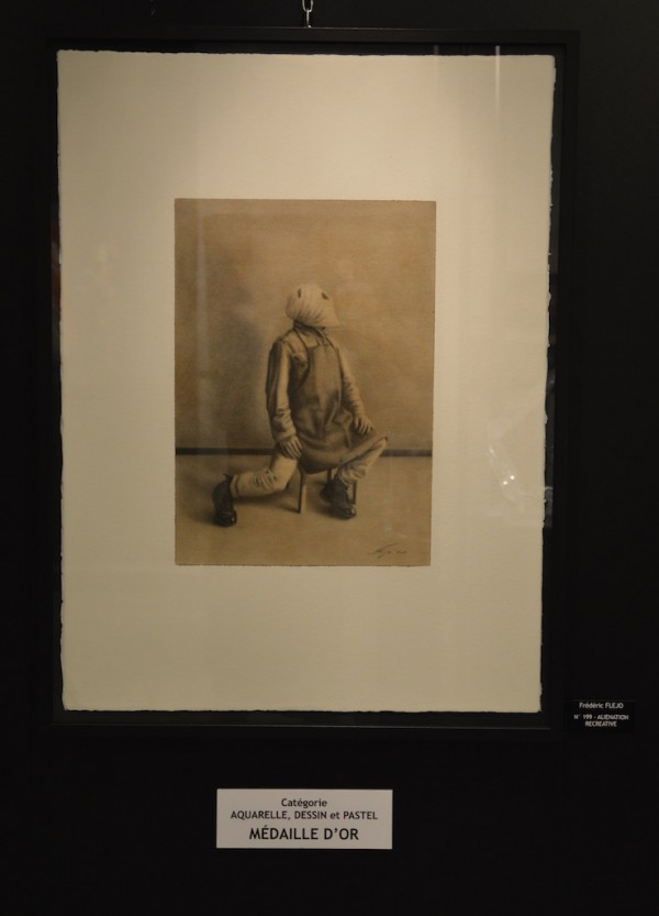 Frédéric FLEJO - Catégorie pastel dessin aquarelle - Médaille d'or