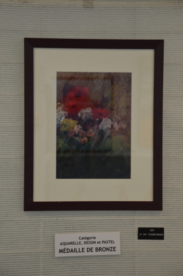 Lea - Catégorie pastel dessin aquarelle - Médaille de bronze